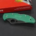 Spyderco Delica 4 Lightweight Green