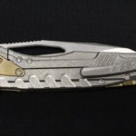 Microtech Sigil Brass/Stonewash